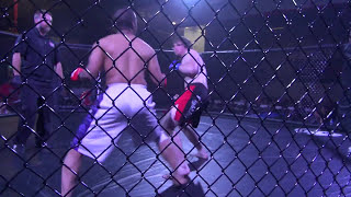 Silat Fighter in the Octagon (MMA)