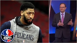 Woj explains what it'd take for Anthony Davis to be traded | NBA Countdown