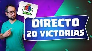 DESAFÍO DE 20 VICTORIAS CON MI CUENTA F2P! NO PIERDAS EL DIRECTO ÉPICO | Malcaide Clash Royale
