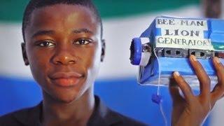 15-Yr-Old Kelvin Doe Wows M.I.T.