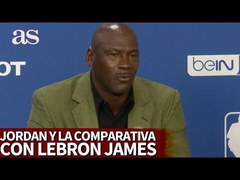 La clase de Michael Jordan para contestar a la eterna comparación con LeBron James | Diario AS