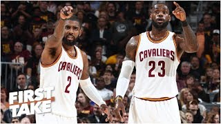 Kyrie Irving is using LeBron James as a prop - Max Kellerman   First Take