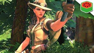 Ashe HUNTS Winstons!   Overwatch (Custom Game)