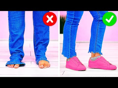 32 BUDGET CLOTHING HACKS YOU MUST KNOW
