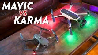 GoPro Karma vs DJI Mavic Pro - Comparison & Review!