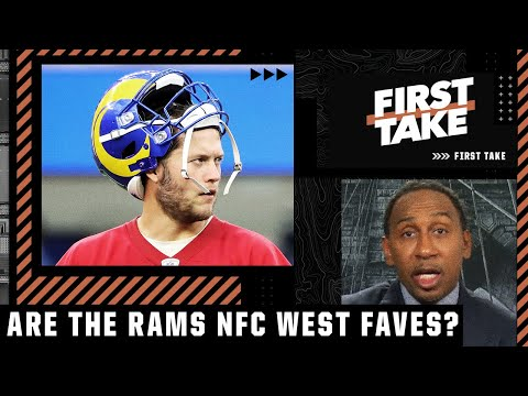 Stephen A. doesn't think Matthew Stafford makes the Rams favorites in the NFC West | First Take