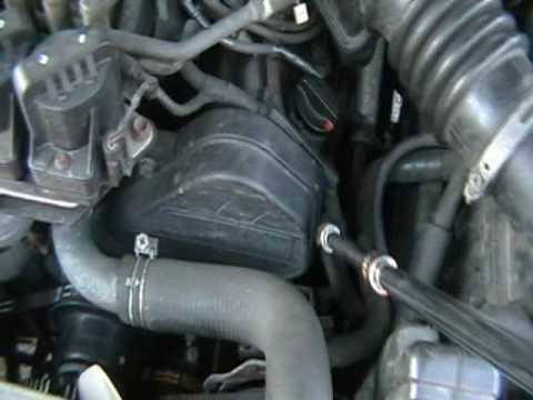 2002 ford windstar serpentine belt diagram 1997 honda civic radio wiring how to tighten a - youtube