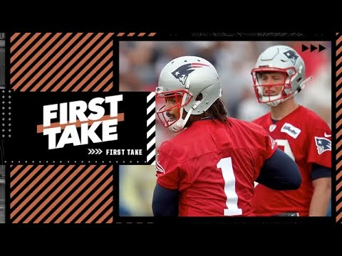 Debating the NFL's most significant QB competition   First Take