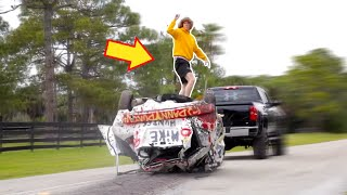 Car Surfing with Danny Duncan!