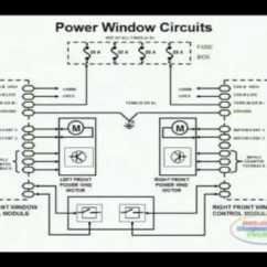 2001 Chevy Cavalier Radio Wiring Diagram Telephone Punch Down Block Power Window 1 - Youtube