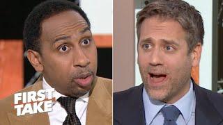 'This man is 42 years old!' – Stephen A. and Max Kellerman debate Tom Brady | First Take