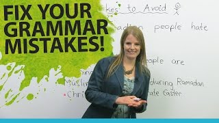 Fix Your English Grammar Mistakes: Talking about People