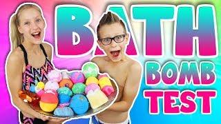BATH BOMB TEST!!!!