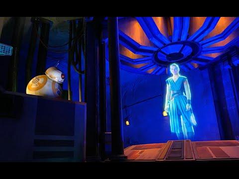 Rise of The Resistance - Recorrido completo de la atracción más ambiciosa de Disney (60fps)