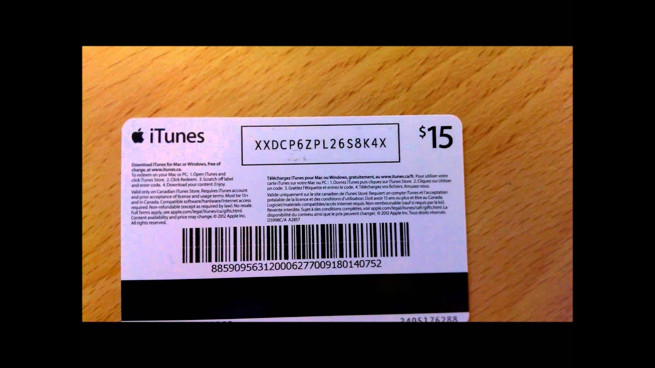 Havent Been Used Itunes Codes Work