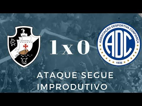 Vasco da Gama 1 X 0 Confiança - Ataque segue improdutivo   Série B   Ao vivo
