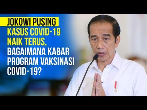 Jokowi Pusing Kasus Covid 19 Naik Terus, Bagaimana Kabar Program Vaksinasi Covid-19?