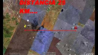 MISIL ARGENTINO APUNTANDO A CHILE 2 NUEVO DESCUBRIMIENTO CRATER CERCA DE EL MISIL SIN DESPERDICIO!!!