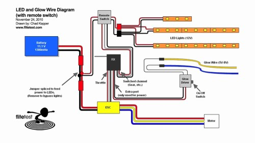 small resolution of rc led wiring diagram free wiring diagram for you u2022 wiring 12v led lights led wire diagram