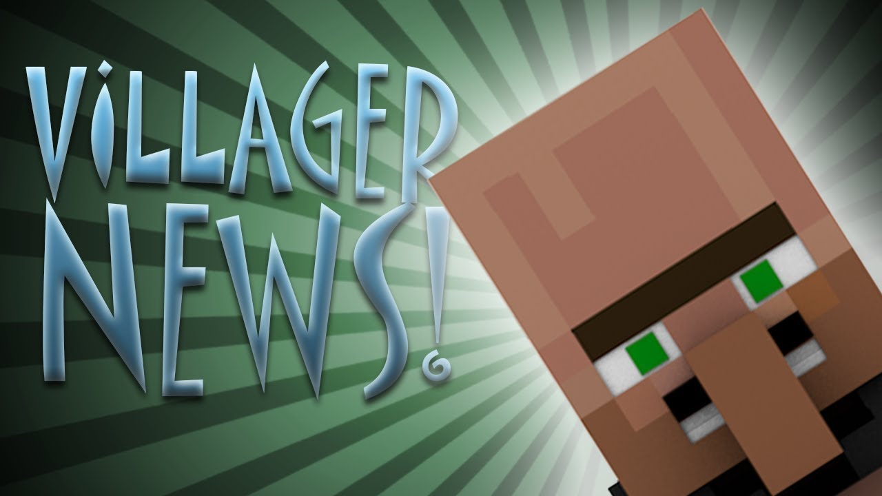 Villager News Minecraft Animcia Slovensk Dabing YouTube