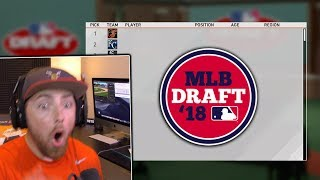 I Got Drafted To My FAVORITE Team! MLB The Show 19 | Road To The Show Gameplay #1