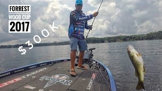 Fishing for 300K and a BIG SILVER CUP - Forrest Wood Cup 2017