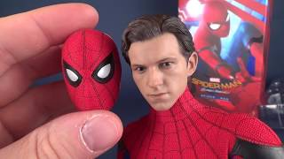 UNBOXING   Hot Toys Spider-man Homecoming Spider-man Sixth Scale Figure