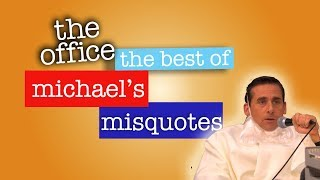 Watch Best of Michael's Misquotes - The Office US Video