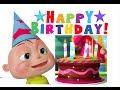 Happy Birthday Song | gyan 3D Rhymes | Nursery Rhymes For Children