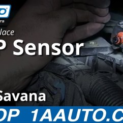 05 F150 Ac Wiring Diagram Blank Chloroplast How To Replace The Map Manifold Absolute Pressure Sensor Chevy Express Gmc Savana 6.0l - Youtube