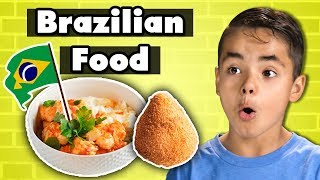 Kids Try Brazilian Food   Kids Vs. Food