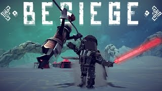 Besiege - Deadly Darth Vader, TABS-like Army, Dogfighting a Zeppelin - Besiege Best Creations
