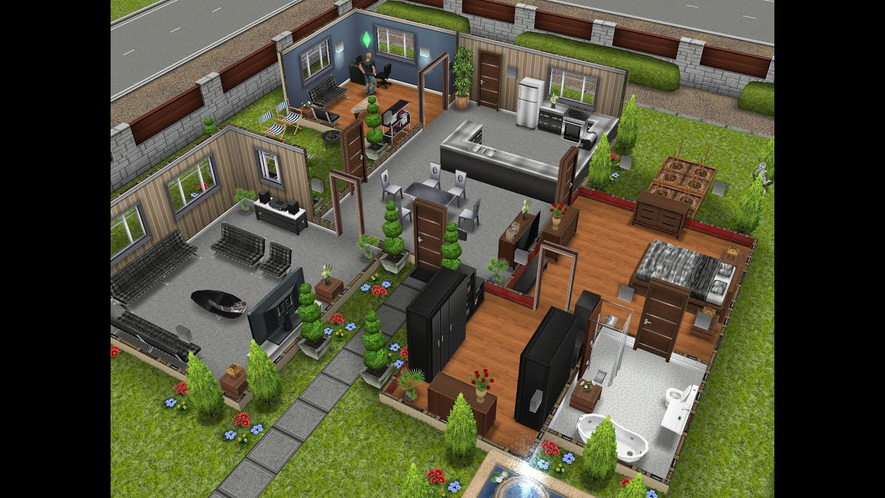 Sims Freeplay Houses Designer Home
