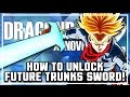 How to Unlock Future Trunks Sword Accessory I Dragon Ball Xenoverse 2 DLC Pack 3 Free Update!