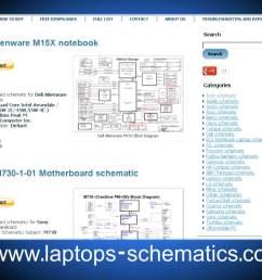 motherboard schematic block diagrams laptop notebook schematics [ 1280 x 720 Pixel ]