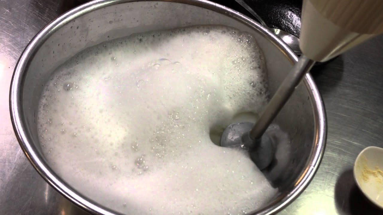 How to make culinary foam  YouTube