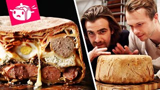 We Tried To Make The Most Intimidating Pasta Dish (Timpano)