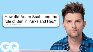 Watch Adam Scott Goes Undercover on Reddit, Instagram, and Twitter | Actually Me | GQ Video