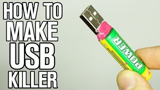 How to make USB Killer!