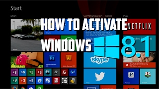 How to activate Windows 8.1 Build 9600 |2017|