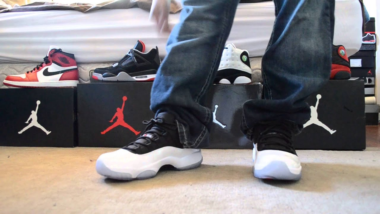 Concord Low Feet Reverse Jordan Retro 11