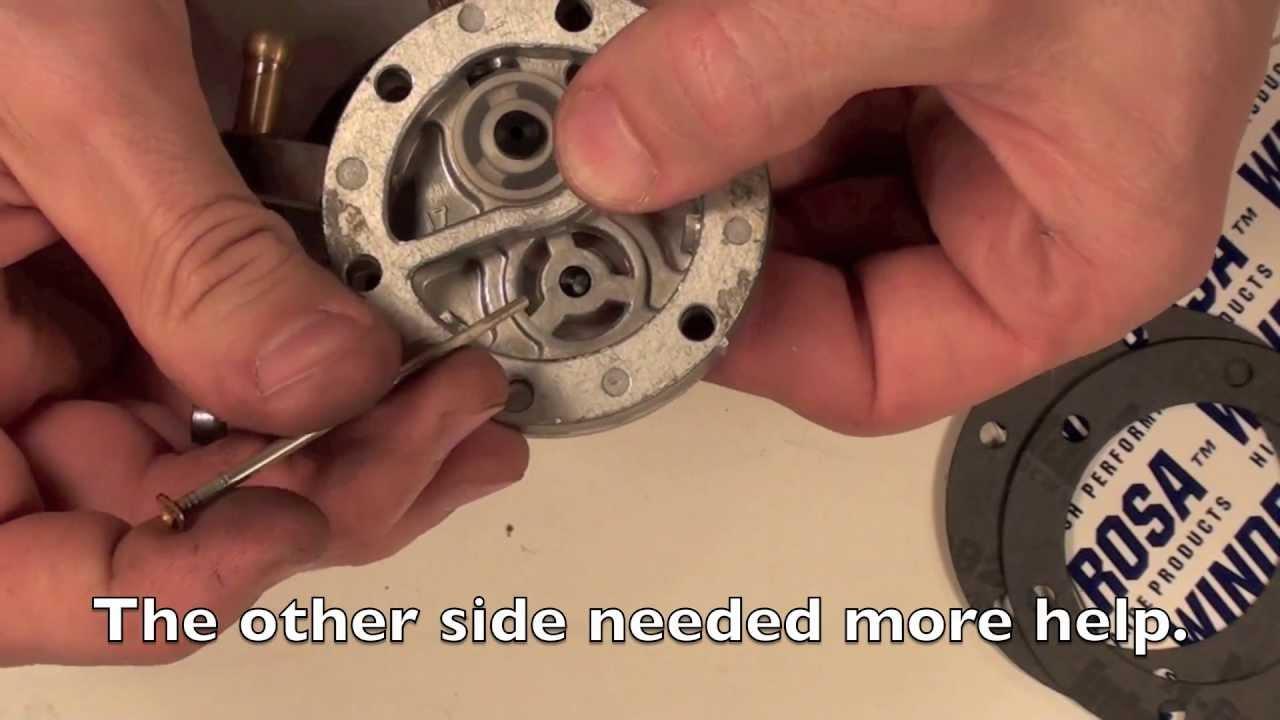Ezgo 2 Cycle Engine Diagram Mikuni Carb Series 1 Fuel Pump Rebuild Youtube