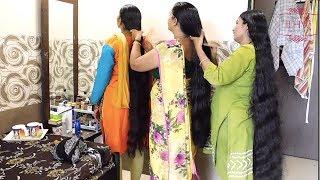 Traditional Hair Care | Traditional Hair Combing | Hair Braiding | Hair Care Routine | Hair Growth
