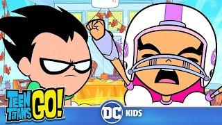 Teen Titans Go! | Family & Thanksgiving | DC Kids
