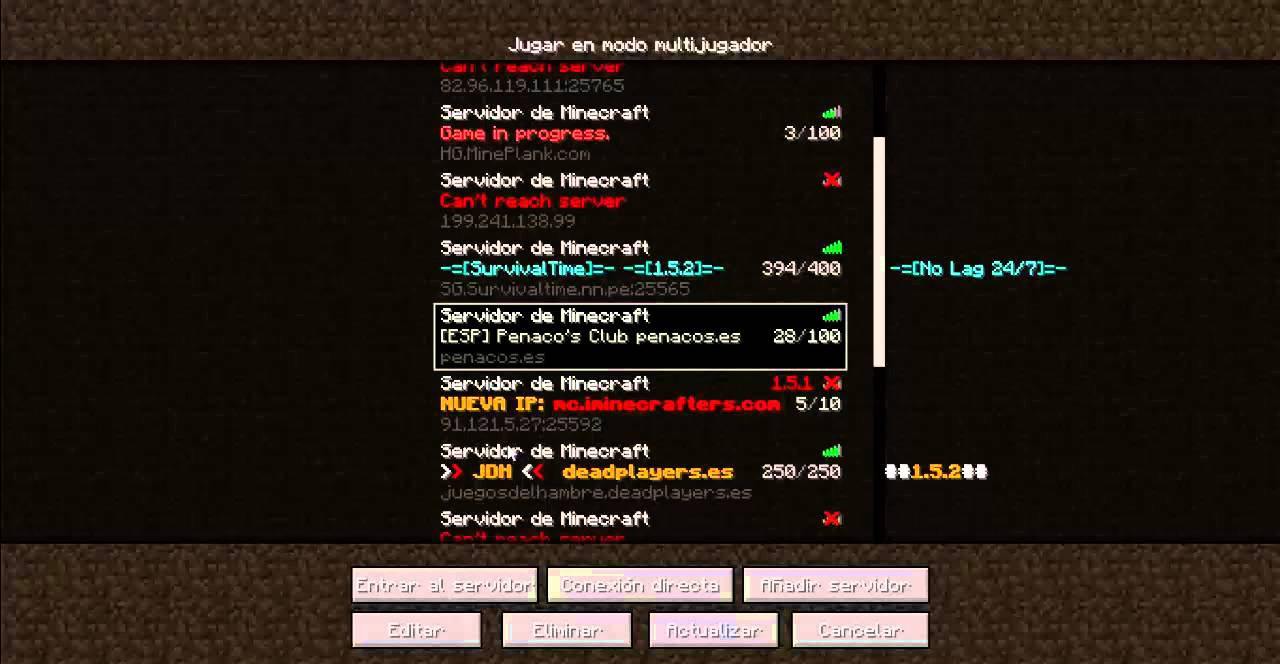 Minecraft Minecraft 2 5 And Addresses Name 1 Server