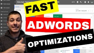 Adwords Optimization Tutorial (Fast) - 6 Easy Techniques To Increase ROI Like a BOSS!