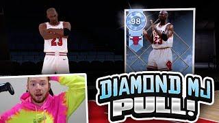 DIAMOND MICHAEL JORDAN PULL!! 1 MILLION VC MJ PLUS PACK OPENING! (NBA 2K18 MYTEAM)