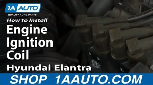How To Install Replace Engine Ignition Coil 200306