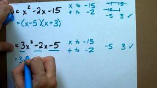 How to Factor any Quadratic Equation