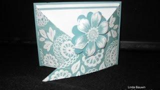 Creative Fold Criss Cross Card
